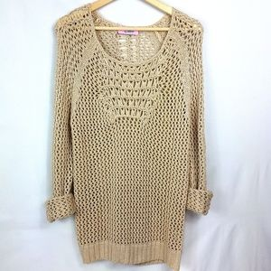 Ellie Open Weave Sweater
